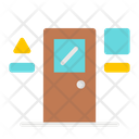 Door Class Classroom Icon