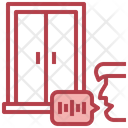 Door Voice Assistant Recording Icon