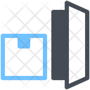 Door Courier Delivery Icon