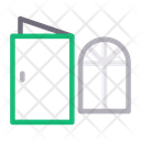 Door Window Construction Icon