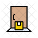 Delivery Door Shipping Icon