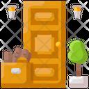 Deliver Door Front Icon