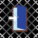 Door Exit With Arrow Icon