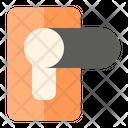 Door Handle Security Protection Icon