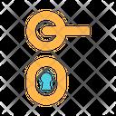Doorhandle Keyhole Icon
