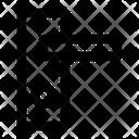 Door Handle Corona Virus Icon