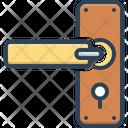 Door Handle Door Lock Front Icon