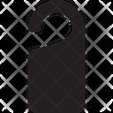 Door Hanger Do Not Disturb Hanger Icon