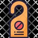 Door Hanger Knob Hanger Do Not Disturb Icon