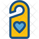 Door Label Hanger Icon