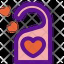Door Hanger Love Icon