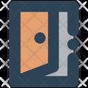Sign Door In Icon