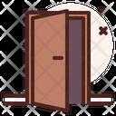 Door In Door Entrance Icon