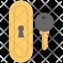 Key Door House Icon