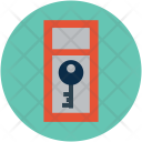 Door Key Safe Icon