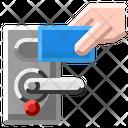 Card Door Key Icon