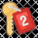 Door Key Car Key Access Key Icon