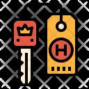 Door Key Card Icon