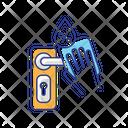 Door Knob Disinfection Door Knob Door Handle Icon