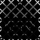 Door Label Open Label Open Sign Icon