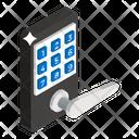 Door Handle Door Lock Smart Lock Icon