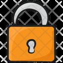 Door Lock Padlock Bolt Icon