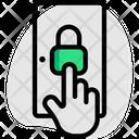 Door Lock Hand Icon