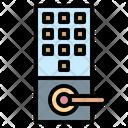 Door Lock Locker Protection Icon