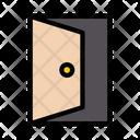 Door Open Hotel Icon
