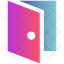 Sign Door Out Icon