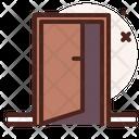 Door Out Door Entrance Icon