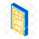 Door Renovation Isometric Icon