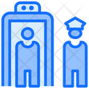 Door Scan Security Check Point Icon