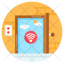 Door Sensor Smart Door Wireless Door Icon