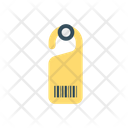 Door Tag Bar Code Label Icon