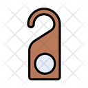 Notdisturb Doortag Label Icon