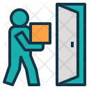Door to door delivery Icon