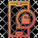 Doorbell Unlock Unlock Mobile Icon