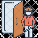 Doorman Doorkeeper Servant Icon