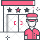 Doorman Security Guard Security Icon