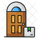 Doorstep Delivery Home Delivery Direct Shipment Icon