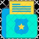 File Keeper Folder Police Folder Icon
