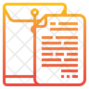 Dossier Expedient Archive Icon