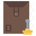Dossier Mail Envelope Icon