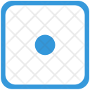 Dot Record Sign Icon