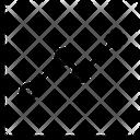 Dot Chart Graph Icon