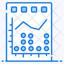 Dot Graph Dot Chart Dot Plot Icon