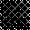 Dot Graph Icon