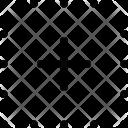 Dots Grid Squares Icon