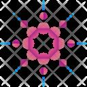 Dots Logogram Shape Icon